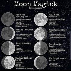 New Moon Rituals, Full Moon Ritual, Full Moon Spells, New Moon Full Moon, Dark Moon, Lunar Magic, Moon Magic, Witch Spell Book, Spell Books