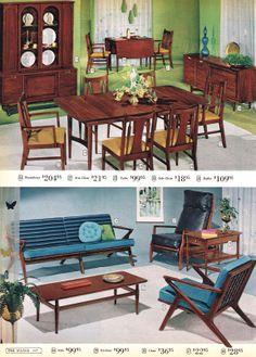 Ward's Suburbia II, MCM Furniture