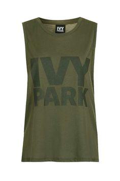 Drop Armhole Tank by Ivy Park