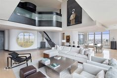 Duplex Manhattan penthouse in New York 1 Spectacular Manhattan Penthouse With Impressive City Views