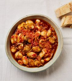 From dal to butter beans: Yotam Ottolenghi's recipes for legumes | Food | The Guardian Ottolenghi Recipes, Yotam Ottolenghi, Healthy Side Dishes, Side Dish Recipes, Veggie Dishes, Healthy Meals, Grilled Prawns, Legumes Recipe, Lamb Dishes