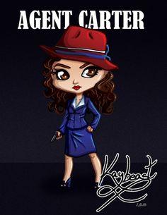 Agent Carter || by Karon Keeney || Peggy Carter || #fanart