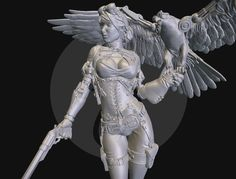 Jessica Thunderhawk is a steampunk sculpture for 75mm miniature production.<br>I really enjoy sculpting this model: a lot of details, attractive girl and a falcon!<br>Making of article:<br>http://blog.sketchfab.com/post/120428030309/art-spotlight-jessica-thunderhawk<br>More info:<br>https://www.behance.net/davidfbarruz<br>https://www.artstation.com/artist/davidfbarruz<br>Thanks for watching!