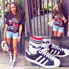 Customized adidas kicks  made by Aki   #ootd #customized #style #fashion #fashionblogger #girl #adidas #adidasoriginals #fila #vintage #90sfashion #curlyhair #braids #newyork #instalike #instagramers #instagood #streetstyle #コーディネート #コーデ #ファッション #髪型 #photooftheday #streetsnap #kicks
