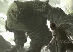 Shadow Of The Colossus Fan Art.