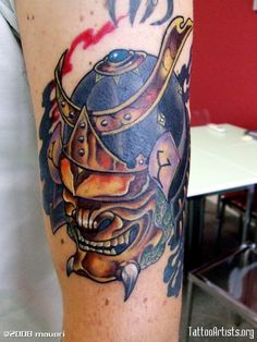 Kabuto-and-Hanya-Samurai-Tattoo-600x800.jpg (600×800)