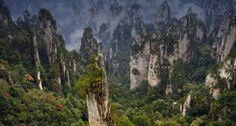 Wulingyuan National China | wulingyuan national park hunan china tao images limited photolibrary