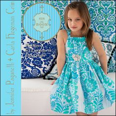 Marissa Dress: Sizes 6-12 mo - 13/14 years