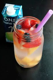 Not Quite a Vegan...?: Melon Berry Coconut Spa Water