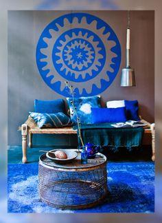- DECOPEDIA - Deco con color: Indigo  DECORAR CON COLORES, #DECOPEDIA3, #DECOPEDIACOLOR, primavera, color, flores, azul, blue, flowers, spring, añil
