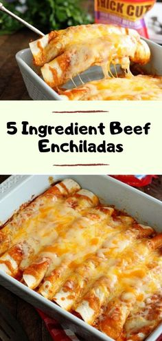 These quick and easy enchiladas only call for 5 ingredients and are ready in no . - These quick and easy enchiladas only call for 5 ingredients and are ready in no . These quick and easy enchiladas only call for 5 ingredients and ar. Paleo Dinner, Dinner Healthy, Dinner Ifeas, Dinner Rolls, Perfect Food, Healthy Recipes, Quick Food Recipes, Dinner Recipes Easy Quick, Easy Mexican Food Recipes