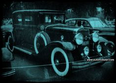 vintage mobsters car