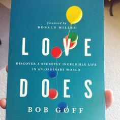Just finished Love Does by Bob Goff (Donald Miller's friend in 1000 miles). Challenging and vivid storytelling.