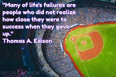 If you believe strongly in what you're doing, why give up? #dreams