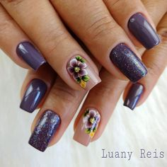 Nail Designer, Manicure E Pedicure, Nails, Manicures, Beauty, 1, Instagram, Black Nails, Nail Jewels