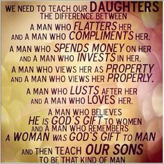 teach them young, the world can change with true knowlege