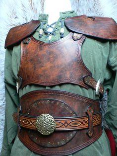 deviantART: More Like Elfe guerrier by ~cortaxCuir