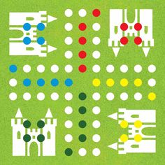 Homemade games for kids - DIY Ludo board game Diy Games, Games To Buy, Games For Kids, Diy For Kids, Free Games, Activities For Kids, Christmas Games For Family, Cute Christmas Gifts, Christmas Party Games