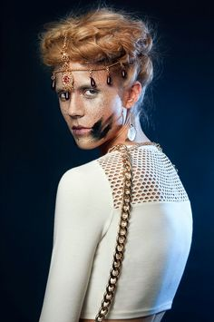 Gro London hair by Vimal at Battersea for Fashion Shift Magazine