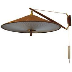 Lightolier Wall Lamp by Gerald Thurston, circa 1950