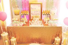 Sparkle Unicorn Baby Shower Party Bridal Shower Cakes, Baby Shower Favors, Baby Shower Cakes, Baby Shower Parties, Baby Shower Themes, Baby Shower Gifts, Shower Party, Shower Ideas, Unicorn Baby Shower Decorations