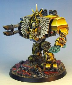 James Wappel Miniature Painting: A Forgeworld Chaplain Dread for Grey Knights...