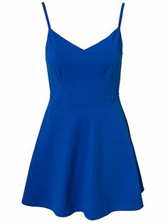 Open Back Dress - Nly Trend - Cobolt Blue - Party Dresses - Clothing - Women - Nelly.com Uk