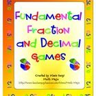 Help your students build fraction and decimal number sense and reinforce important skills with these super fun math games! $