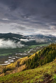 The East River - Crested Butte - Colorado  by Wayne Boland
