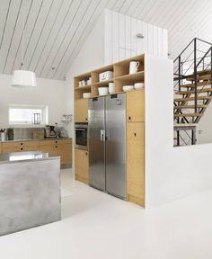 Stylish Danish Design White House Interiors – Kitchen Interiors