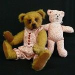 Leanne Traditional Artist Teddy Bear by Lisa Dopking of Megelles - by Megelles on madeit
