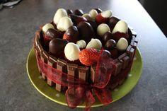 Kit-kat chocolate mud cake.
