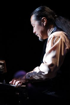 Kitaro - I listened to him a lot in College.. love the dreamy, ethereal and relaxing character to his music.