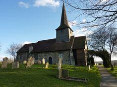 St. Nicholas Church (Laindon, Essex, England).  Taken: 19/02/2012.
