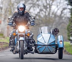 Take a ride with your best friend on a Watsonian Squire Sidecar www.watsoniansquireusa.com