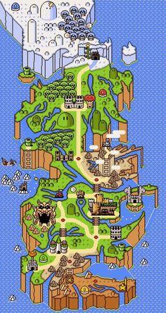 TarskiBlog.com: Mario Game of Thrones map