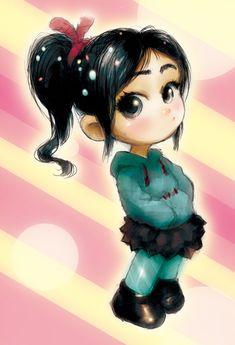 Disney Art, Disney Pixar, Vanellope Von Schweetz, Wreck It Ralph, Anime, Design, Cartoon Movies, Anime Music