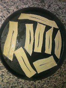 Chiacchiere microonde piatto crisp