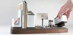 designbinge:  i/o Desk Organizer - Kaiju Studios