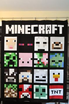 Looking for your next project? You're going to love Minecraft Quilt Finishing Instructions by designer Tricia_Curtis.
