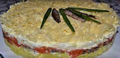 """Салат""""Океан"""" со шпротами: вкусное блюдо на праздничный стол"""