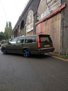 #volvo #850 #slammed #stance #wagon