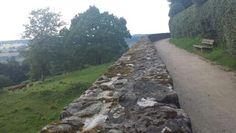 Luise auf der Stadtmauer von Rüthen
