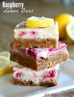 Raspberry Lemon Bars 2