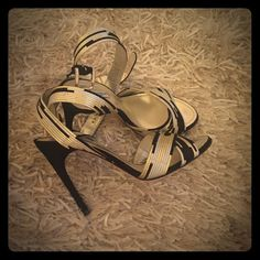 Dolce and Gabbana heels Dolce and Gabbana stilettos in black, silver, gold. Dolce & Gabbana Shoes Sandals