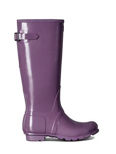 Hunter Rain Original Adjustable Gloss Boots
