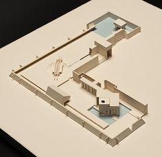 Brion Tomb : Tomba Brion | Carlo Scarpa | Model : Federico Meroni