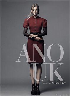 Fashion Gone Rogue: Anouk by Jingna Zhang, via Behance