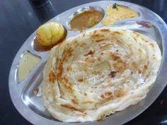 Flaky Kerala/Malabar Paratha by VahChef