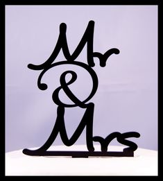 Wedding+Cake+Topper+Mr+and+Mrs+with+by+CakeTopperConnection,+$17.95
